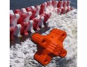 Πλωτός κυματοθραύστης - αποσβεστήρας. Modular κατασκευή (τιμή τεμαχίου)